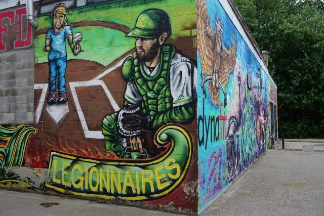 Listowel mural wall
